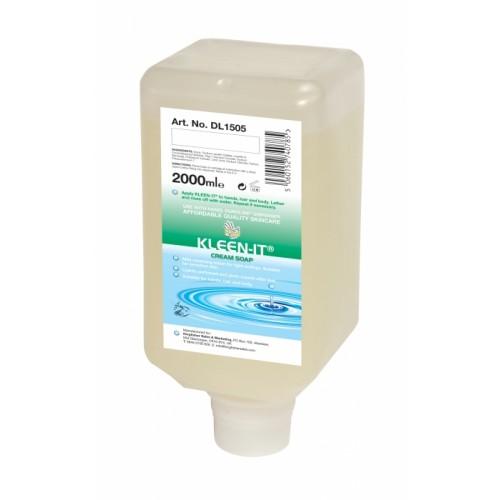 Hanzl KLEEN-IT 2L Soft Bottle - Light Duty Hand & Body Soap (Pack of 6)