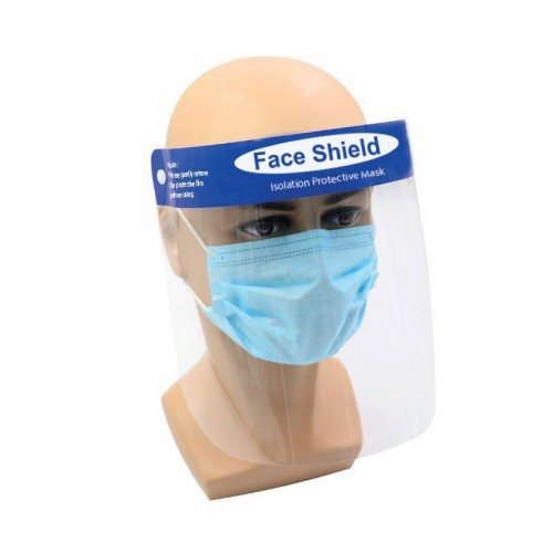 Universal fit face shield