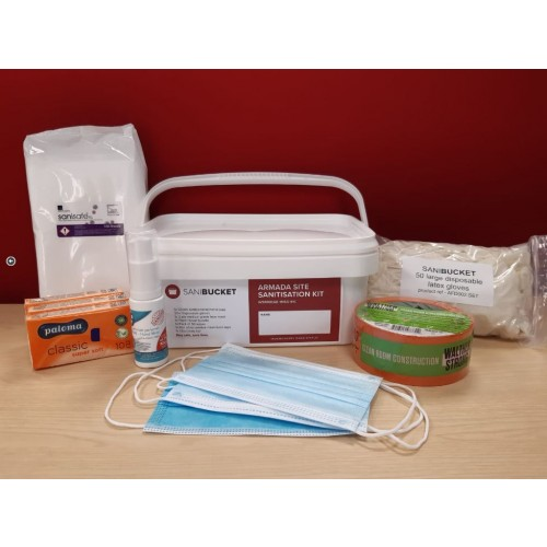 SaniBucket Site Sanitisation Kit