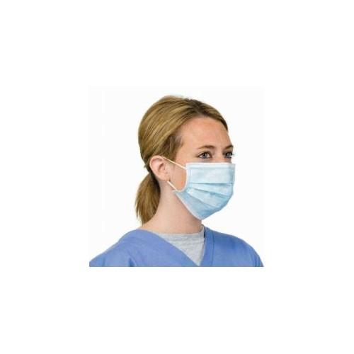 Non-Woven 3-Ply Blue Disposable Surgical Face Mask