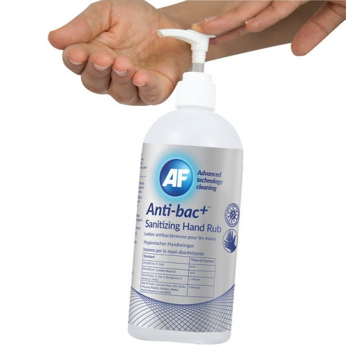 500ml Pump Top Anti-Bac Hand Sanitiser