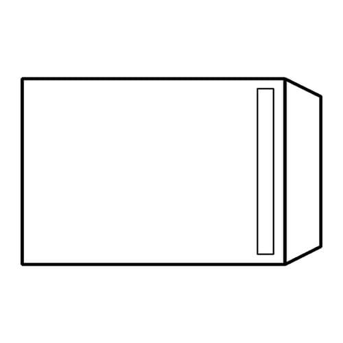 EBB Envelope White C4 Pocket 324X229 90gsm Self Seal