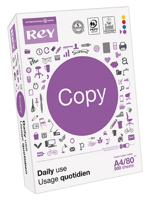 Rey Copy 80gsm A4 - Box of 5 reams