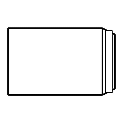 EBB Envelope White C5 Pocket 229X162 100gsm Peel & Seal