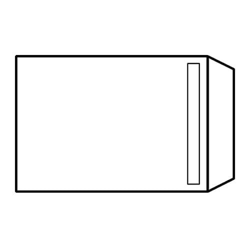 EBB Envelope White C4 Pocket 324X229 100gsm Self Seal