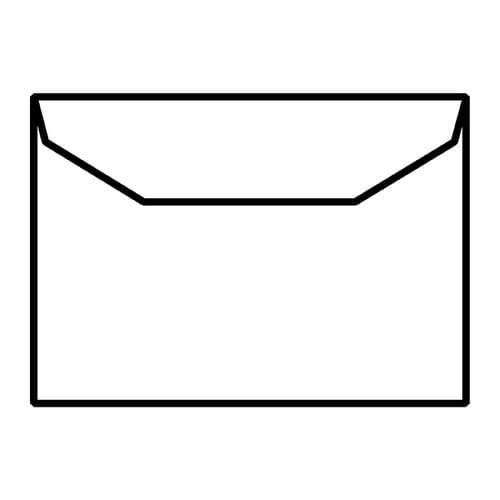EBB Envelope White C5 Mailing Wallet 162X229 90gsm Gummed