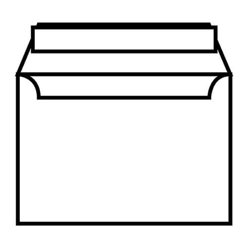 EBB Envelope Ultra White Wove C6 Wallet 114X162 120gsm Peel & Seal