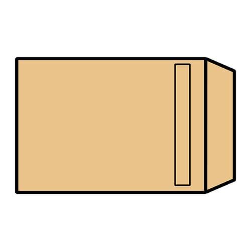 EBB Envelope Manilla C5 Pocket 229X162 80 Self Seal