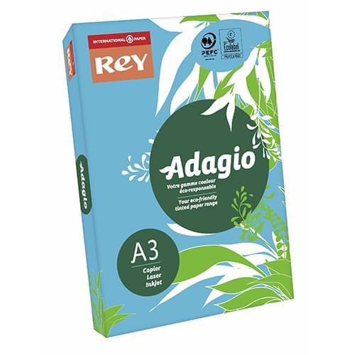 Adagio Blue  80g A3 - Box of 5 Reams