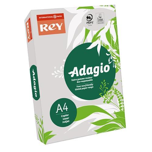 Adagio Grey 80g A4 - Box of 5 Reams