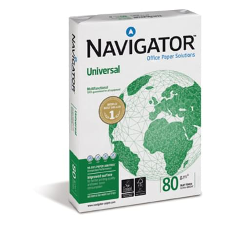 Navigator 80g A4 - Box of 5 Reams