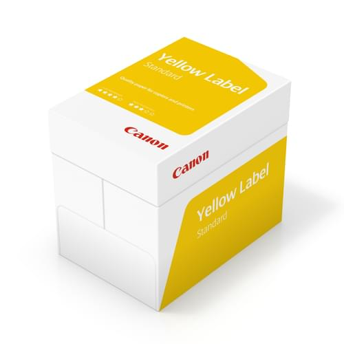 Canon Yellow Label Standard 210X297 80 A4 - Box of 5 Reams