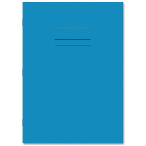 Hamelin A4 10 mm Squared 80 Pages Exercise Book - Light Blue (Pack of 50)