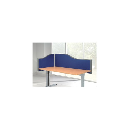 Desk Top Screen Shaped 1600mm Wide 480mm Tall CLEARANCE OFFER
