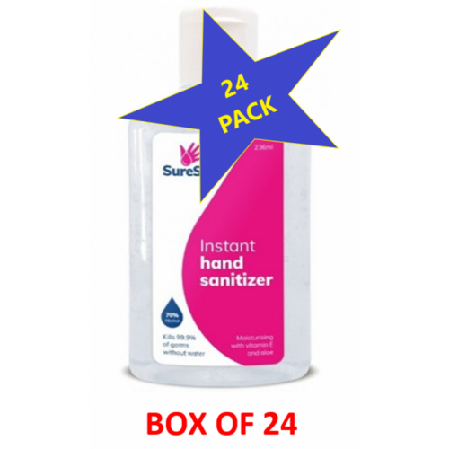 Hand Sanitiser 236ml Box of 24 Bottles