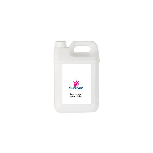 Hand Sanitiser 5 Litre Bottle 60% Alcohol Conforms to EN14476 & EN1276:2019