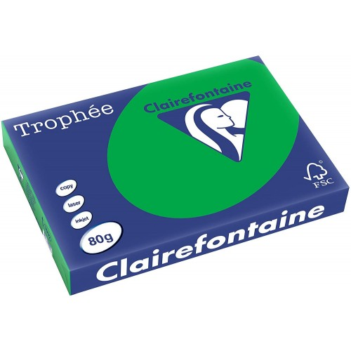 TROPHEE TINTS Billiard Green 80gsm 210x297mm (1991) A4 (pack 500 sheets)