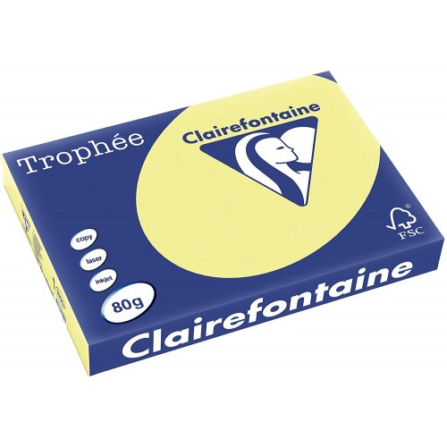 TROPHEE TINTS Daffodil 80gsm 210x297mm (1778) A4 (pack 500 sheets)