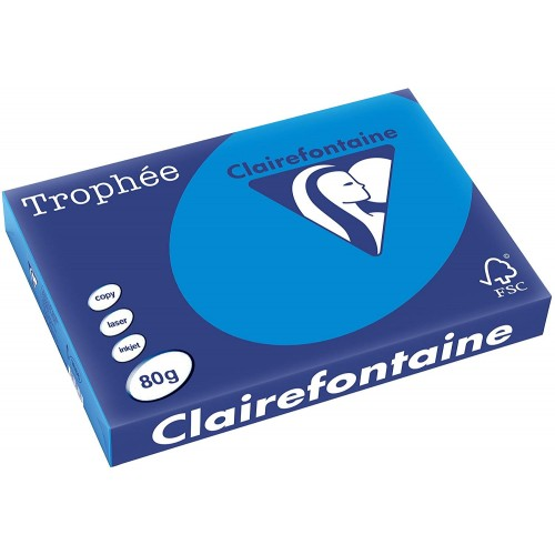 TROPHEE TINTS Intensive Blue 80gsm 210x297mm (1781) A4 (pack 500 sheets)