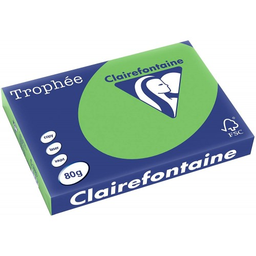 TROPHEE TINTS Intensive Green 80gsm 210x297mm (1875) A4 (pack 500 sheets)