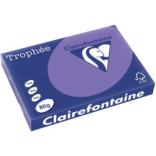 TROPHEE TINTS Intensive Lilac (Violet) A4 (pack 500 sheets) 80gsm 210x297mm (1786) A4 (pack 500 sheets)