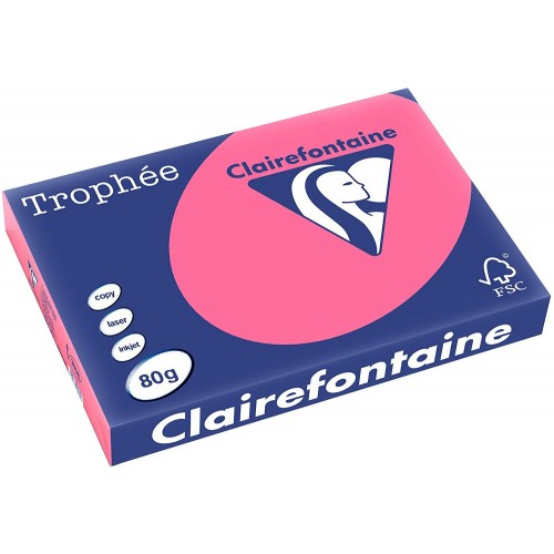 TROPHEE TINTS Intensive Pink 80gsm 210x297mm (1771) A4 (pack 500 sheets)