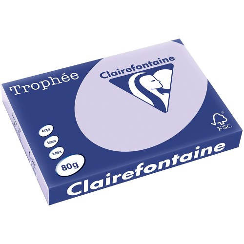 TROPHEE TINTS Lilac 80gsm 210x297mm (1872) A4 (pack 500 sheets)