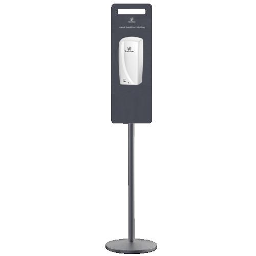 Pole Stand For 1L Sanitizer Touchless Dispenser (Dispenser sold separatley order 13603 Dispenser) Delivery 7 to 14 Days