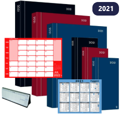 2021 Remaining Diaries, Calendars & Planners