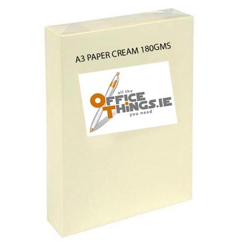 A3 Paper Cream180gsm FZB180SR2VA(250)