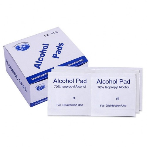 Alcohol Prep Pads Sacheted 100's