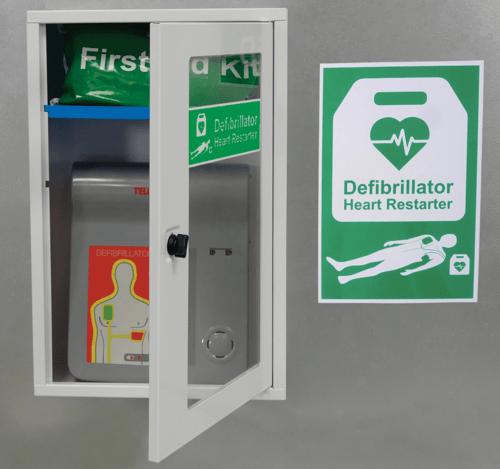 AED Defibrillator Cabinet Thumb Lock