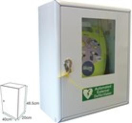 Defibrillator Thumb Lock Cabinet