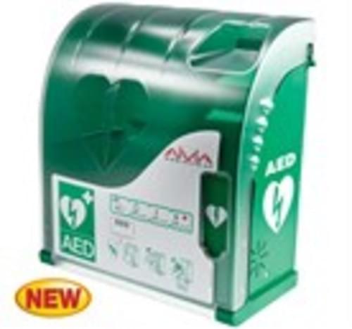 Aviva 200 Alarmed Outdoor AED Cabinet