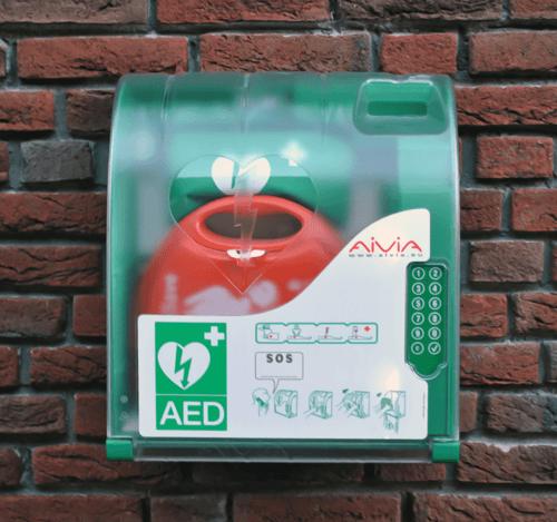 Aviva 200 Alarmed Outdoor AED Digicode Access