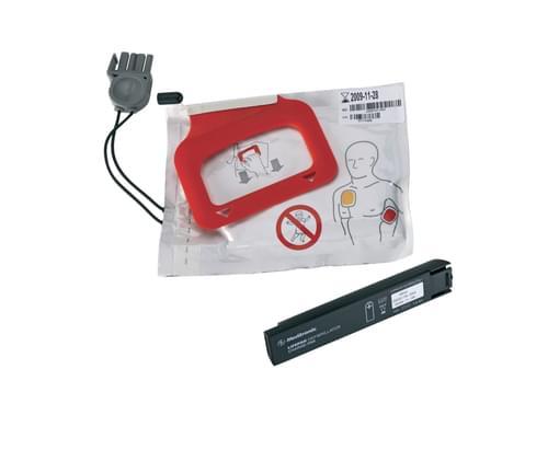Lifepak Cr Charge-Pak Charging Stick,2 X Adult Electrodes