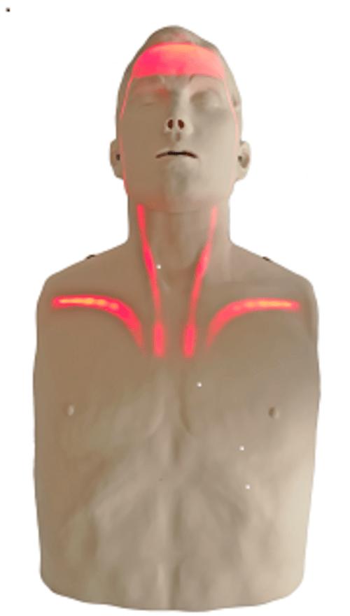 Brayden CPR Manikin with Red Lights