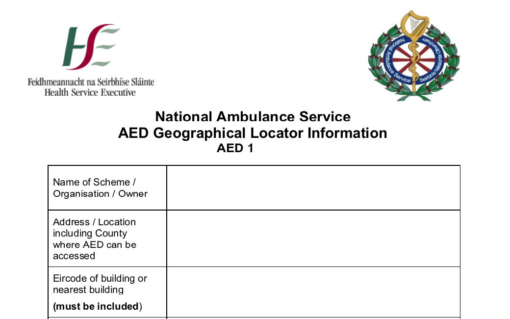 AED Geographical Locator
