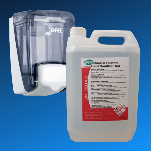 Alcohol Gel & Bactericidal Soap Refills
