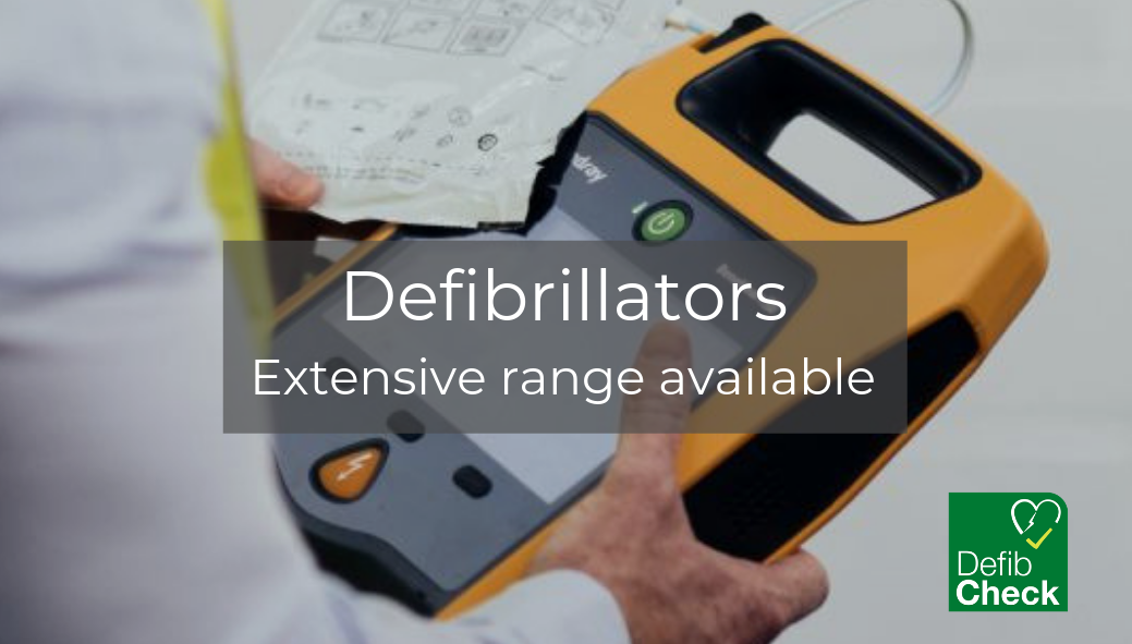 Defibrillators with Cabinets for Schools, offices, sports clubs