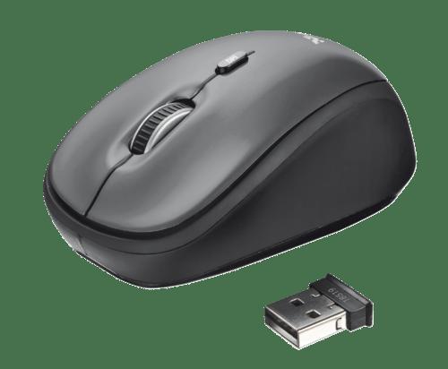 Yvi Wireless Mouse - black