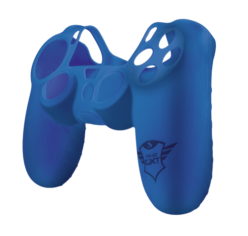 GXT 744B Rubber Skin for PS4 conTollers - blue