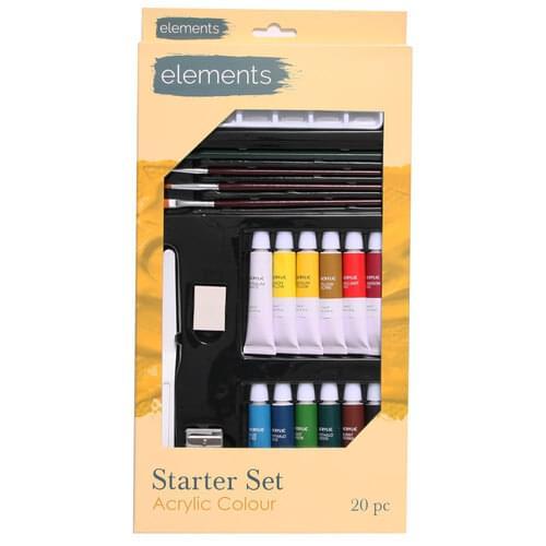 Elements Acrylic Starter Set