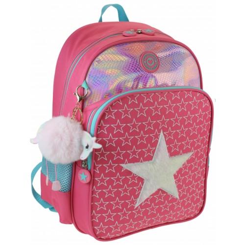Freelander Pink Star Backpack