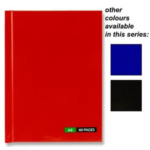 Premier A6 160Gp Hardback Notebook
