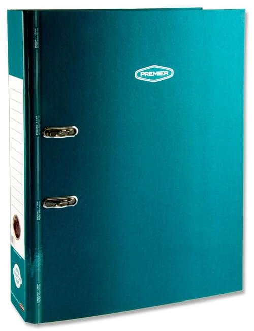 Premtone A4+ Lever Arch File With Enduro Strip 5 Colours Available.