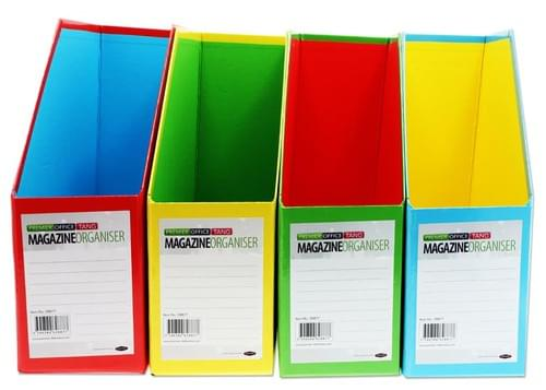 Premier Office Magazine Organizer - Tang 4 Colours Available.