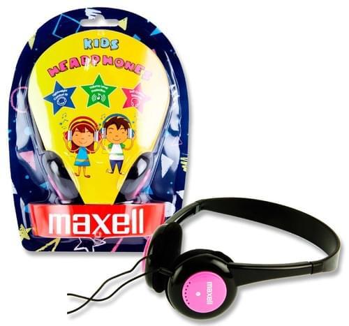 Maxell Kids Headphones - Pink