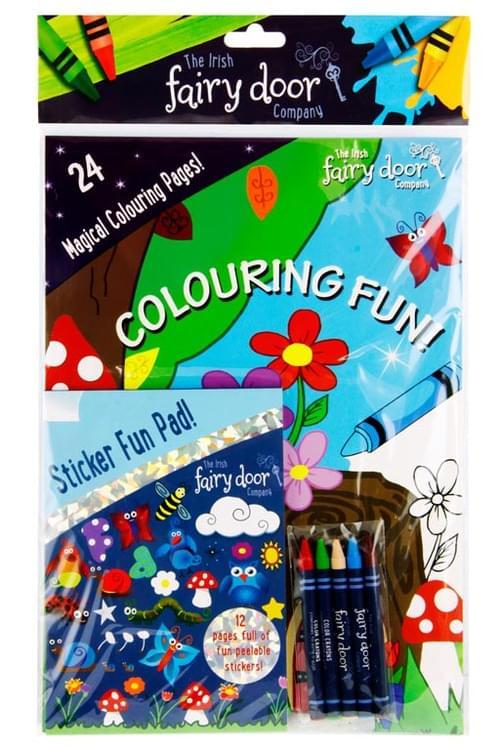 Irish Fairy Door - Sticker & Colouring Book Fun