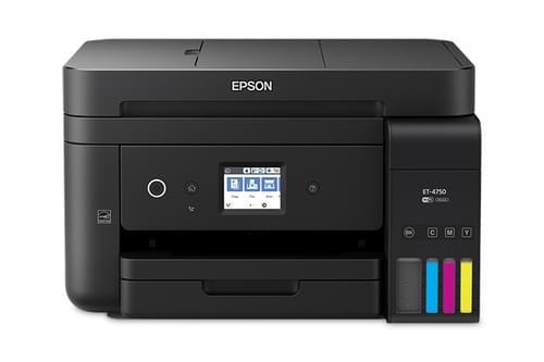 Epson EcoTank ET-4750 Inkjet 4800 x 1200 DPI 33 ppm A4 Wi-Fi